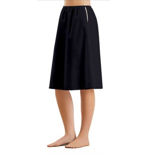 image of Cotton Half Slips with sku:19159-M%BLK