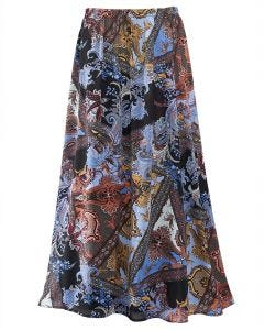 Paisley Patchwork Skirt