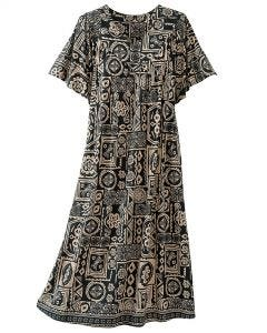 Tribal Print Lounge Dress