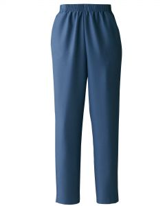 Donnkenny Elastic-Waist Gabardine Pull-On Pants